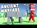 HUNGRY WOLVES VS SANTA CLAUS! - Huge New Update - Ancient Warfare 2 Gameplay