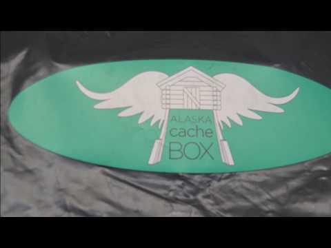Opening My Alaska Cache Box!!!!