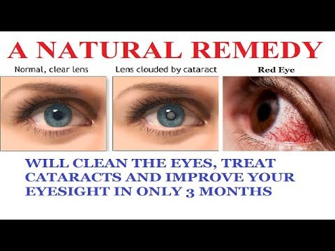 CLEAN THE EYES, TREAT CATARACTS AND IMPROVE YOUR EYESIGHT IN ONLY 3 MONTHS… AVOID THE SURGERY!!!