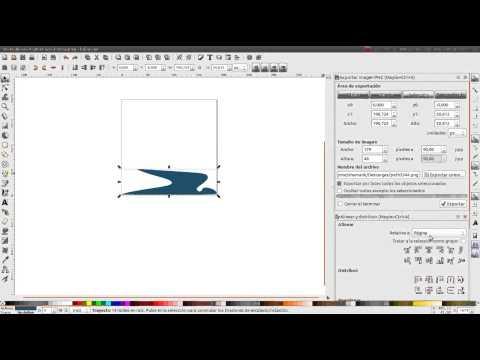 Convertir PNG a SVG (Linux + Inkscape)