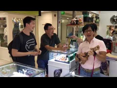 Indonesian Customer buying Rolex in Singapore. Far East Plaza #04-121B.