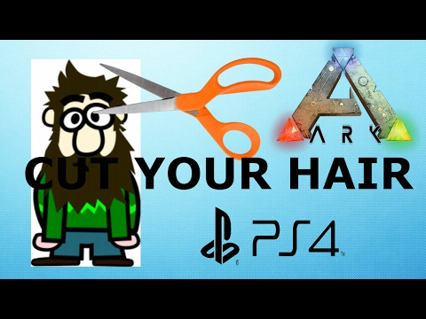 ARK SURVIVAL EVOLVED: How to cut your hair