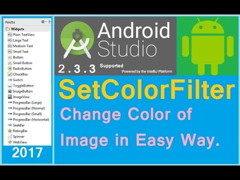 Android color filter replace color. How to edit image in android. Android studio (NEW)