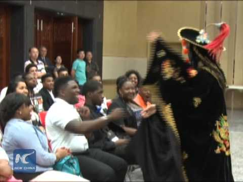 Texas college students learn about Chinese culture in Houston