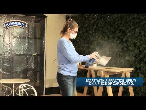 DIY: How to Spray Paint Metal Furniture