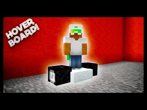 Minecraft - How To Make A Hoverboard