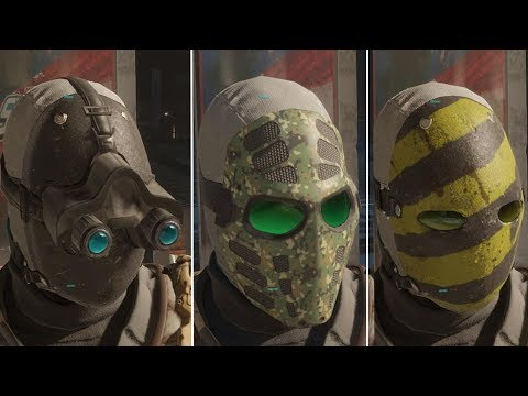 Ranking ALL 18 SECRET & GLOBAL EVENT Masks From WORST To BEST... (THE DIVISION)