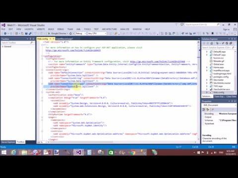 Insert, update, delete using SqlDataSource ControlParameter' in ASP.NET