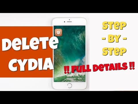 How to Delete Cydia from iOS 9 - Tutorial in 4K