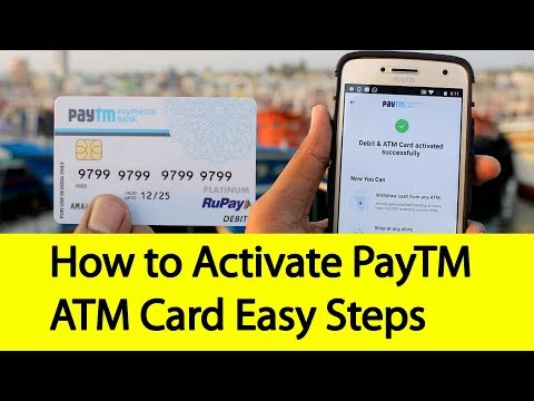 How to Activate Paytm Debit Card Easy Steps | Tamil Banking