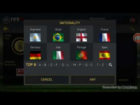FIFA 15 | Squad Builder HYBRID | Android / IOS