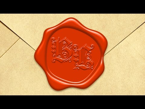 Photoshop Tutorial: How to Create a Wax Seal with Raised Text
