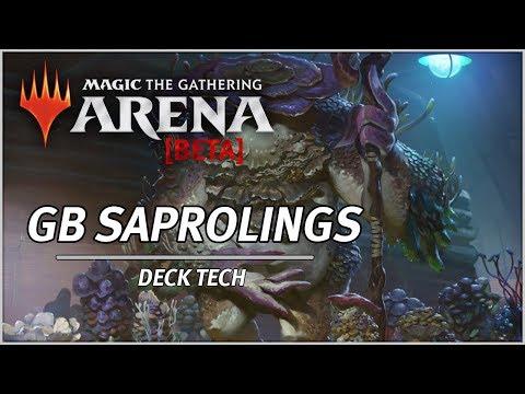GB SAPROLING TOKENS - Magic Arena Deck Tech