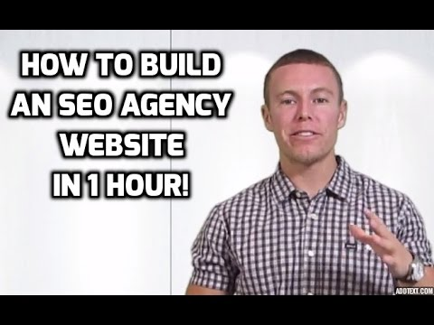 How To Build an SEO Agency Website in 1 Hour For Beginners!