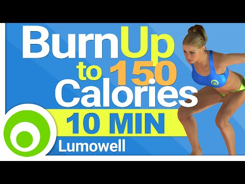 Burn 150 Calories in 10 Minutes - Fat Burning Exercises