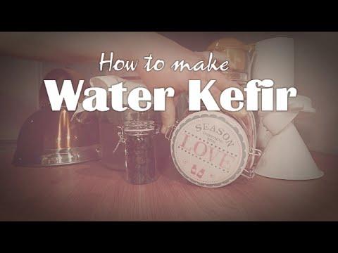 How to make water kefir!