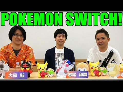 JUNICHI MASUDA SPEAKS OUT ABOUT POKEMON SWITCH!