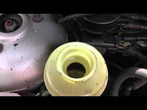 Ford Focus Power Steering Top Up Location Video