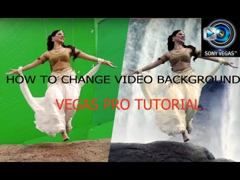 How to change video background|Vegas Pro Malayalam Tutorial Part # 2