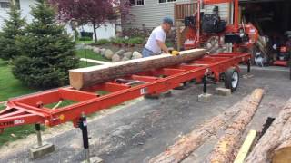 Scierie mobile LT15 Wood-Mizer - Concept Bois Malin