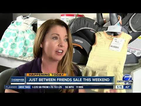 Just Between Friends sale can help families save money