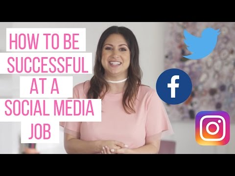 How to be Successful at a Social Media Job! | The Intern Queen