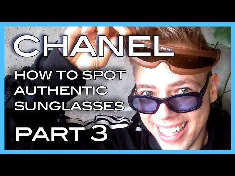 how to spot authentic CHANEL sunglasses PART 3