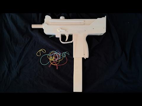 Fullauto mag-fed MAC-10 [ Rubberband gun]!  - Free templates