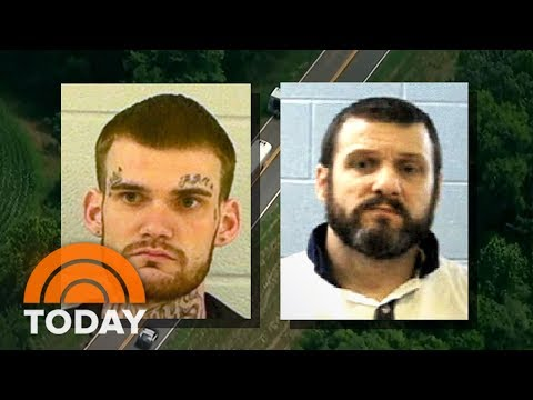 watch Manhunt For 2 Inmates Who Killed Guards: Police Find Their Stolen Car | TODAY