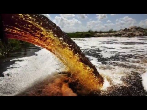 Water Pollution caused by garbage