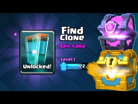 How to get CLONE SPELL CARD Instantly : Clash Royale