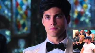 Shadowhunters Cast react to MALEC KISS