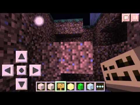 0.10.4 - Minecraft Pocket Edition: DIAMOND TRAP TUTORIAL!