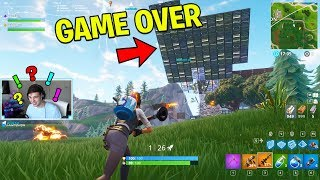 Fortnite CUSTOM GAMEMODE Loser has to do what the top comment says.. (Rocket Wars Playground mode)