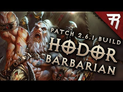 Diablo 3 2.6.1 Barbarian Build: HotA GR 113+ (Guide, Season 13, PTR)