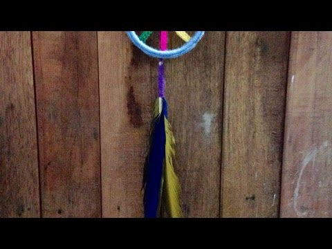 Make a Beautiful Peace and Love Dreamcatcher - DIY  - Guidecentral