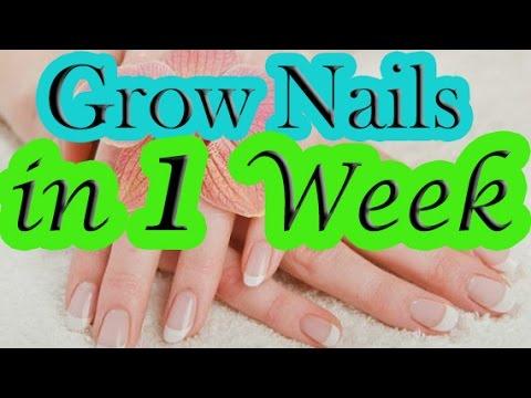 How to Grow Nail in 1 Week | Grow Nails Fast | Faster nail Growth | Long & Strong Nails