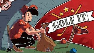 A MINEFIELD of DEPRESSION! | The Sad Golf Troll (Golf It w/ The Derp Crew - Custom Maps)