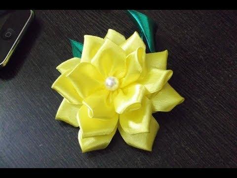 D.I.Y. Satin Ribbon Flower - Tutorial   MyInDulzens