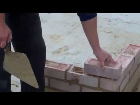 Brickwork, video 4, spinning a brick and clean techniques