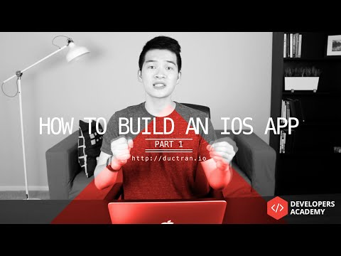 How to Make an App | Part 1 | Design UI, Storyboard in Xcode, Programming wt Swift