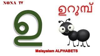 Learn Malayalam Alphabets & Words with A(അ ) | Malayalam