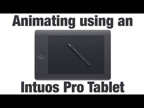 Animation Lesson - Animating Using A Wacom Intuos Pro