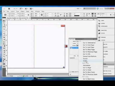 InDesign Training : How To Export InDesign Documents as Flash Files
