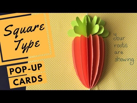Pop-up Cards Tutorial - Shaped Flaps