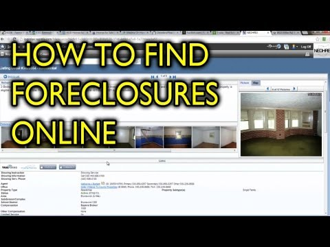 How to Search For Foreclosure Properties Online