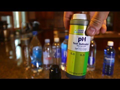 10 Brands of Bottled Water Test for pH