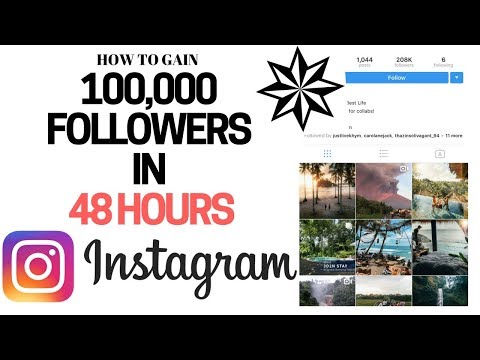 How To Get 100,000 REAL Instagram Followers in 48 Hours (Complete Step by Step Tutorial)