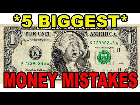 AVOID THESE 5 MONEY MISTAKES IN 5 MINUTES