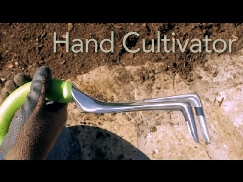How to Use a Soil Cultivator : Garden Tool Guides